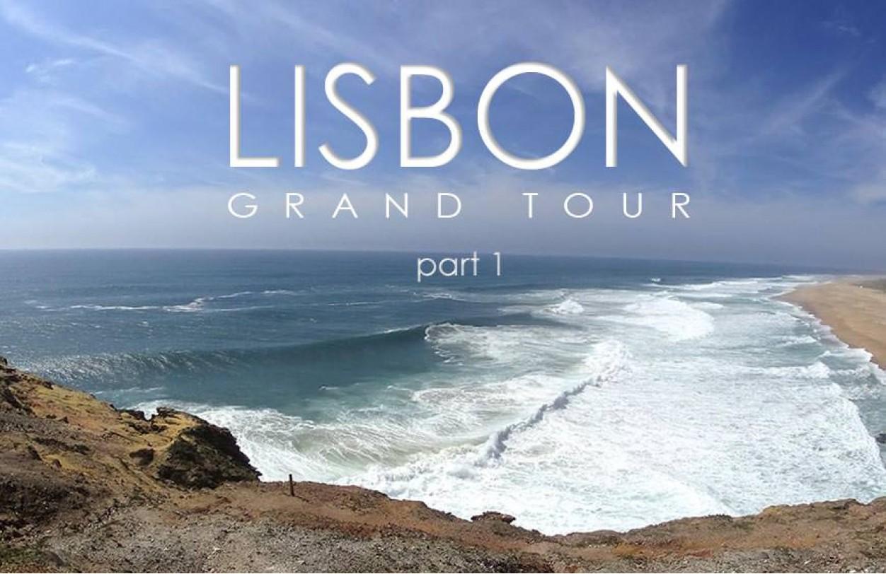 Окрестности Лиссабона на машине