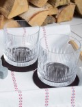 Набор костеров из темно-коричневой кожи 12 шт.