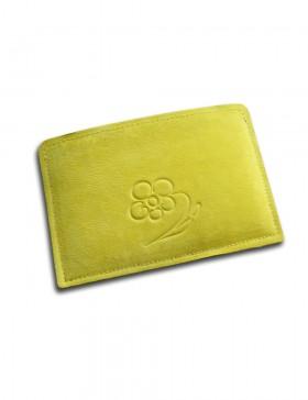 Обложка для паспорта и карт Yellow  DS