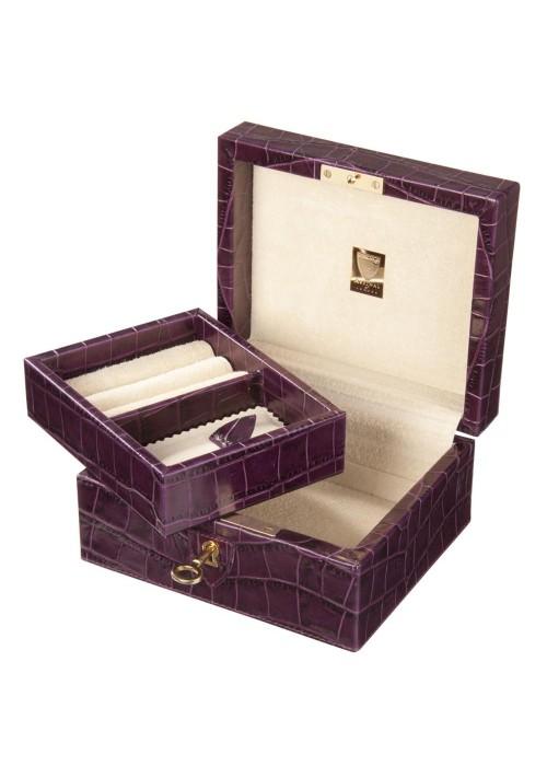 Шкатулка для драгоценностей LIVERPOOL, фиолетовая