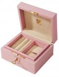 Шкатулка для драгоценностей LIVERPOOL, розовая
