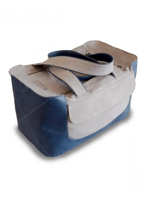 Дорожная сумка из кожи Grafit