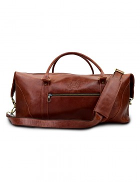 8d17044d067f Стильная дорожная сумка Grand Tour (L) brown ...