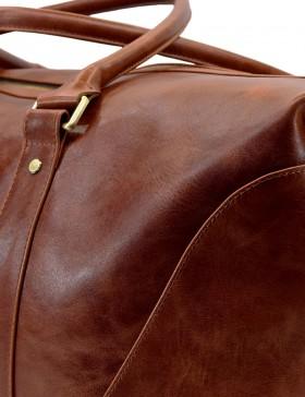 Стильная дорожная сумка Grand Tour (L) brown