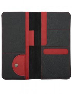 Органайзер для путешествий Hakuna Matata, черный с красным