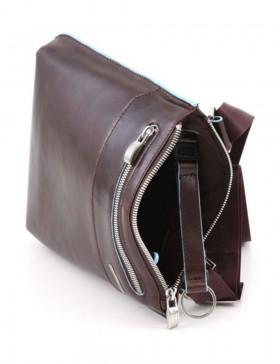 Сумка-планшет Piquadro Blue Square, красно-коричневая