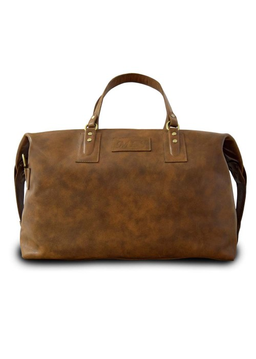 Кожаная дорожная сумка Bristol Brown