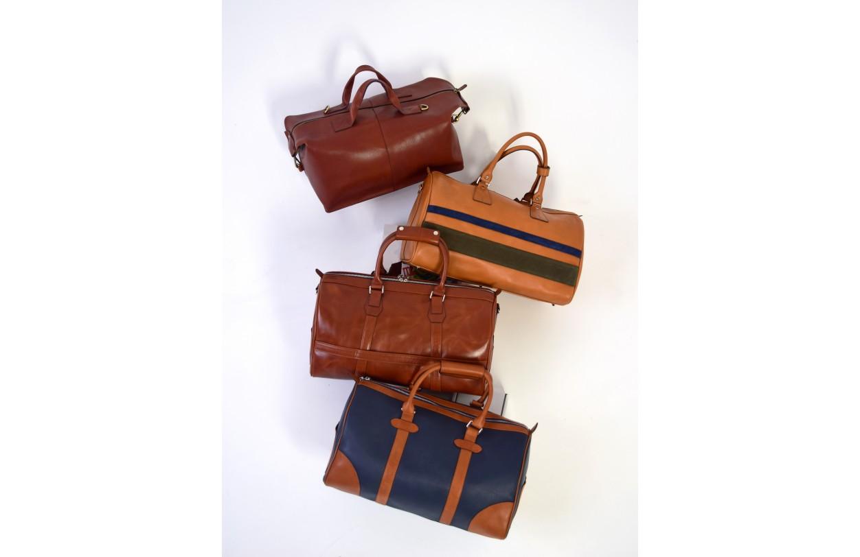 Новая коллекция  дорожных сумок ручной работы к Новому году